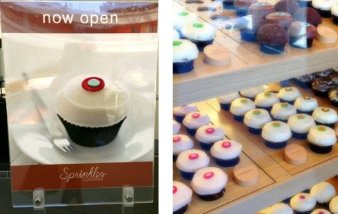 Sprinkles Cupcakes Downtown LA