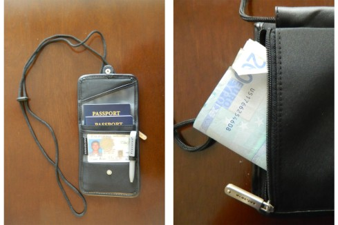 Travelon ID Travel Wallet